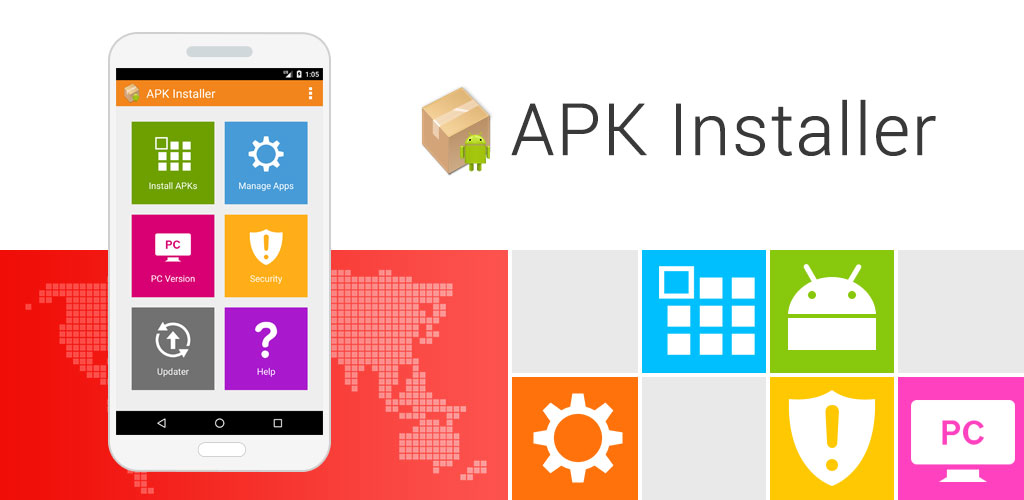 ApkInstaller for PC screenshot